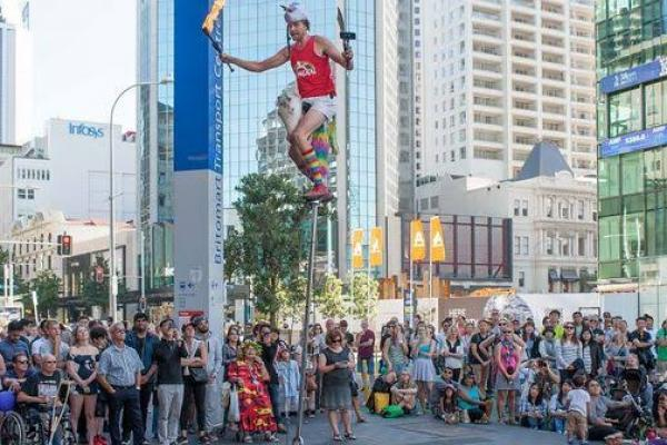 Auckland International Buskers Festival